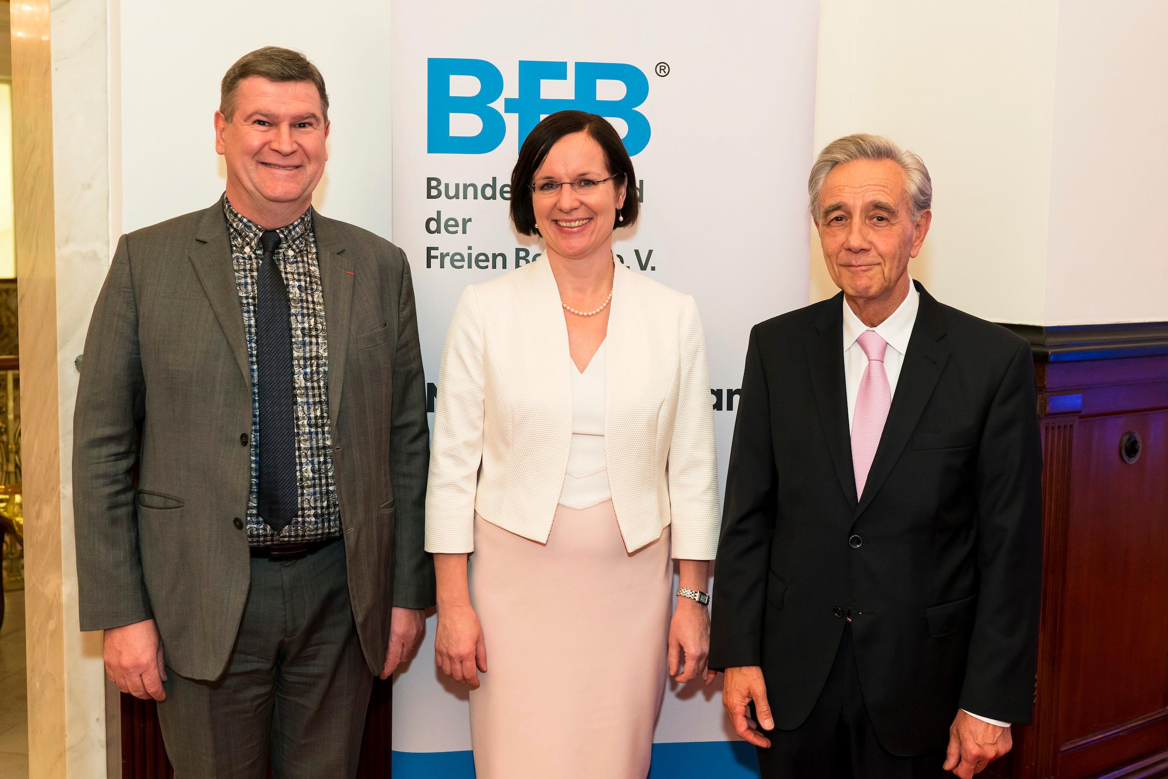 François Blanchecotte présent aux vœux de la BFB au Parlement allemand