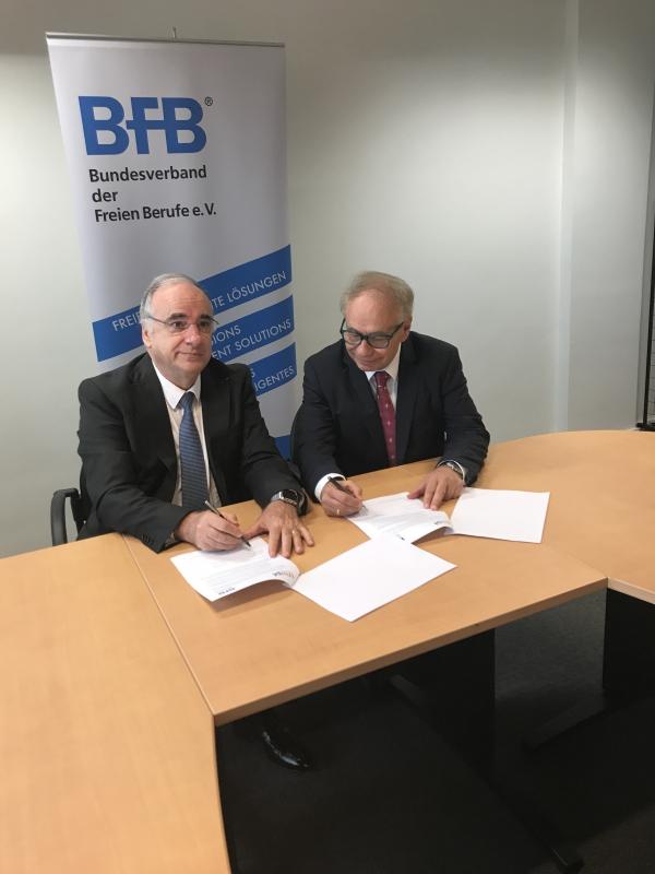 Professions libérales : L'UNAPL et le BFB engagent le renforcementde la démarche franco-allemande en Europe