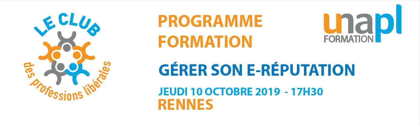 Le club des professions libérales - Rennes - Jeudi 10 octobre 2019