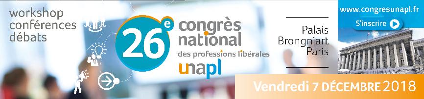 Congrès national des professions libérales : c'est le moment de vous inscrire !