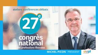 Discours d'ouverture du congrès de Michel PICON, Président de l'UNAPL